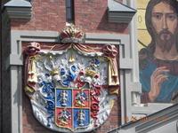 Фасад каплицы за замком