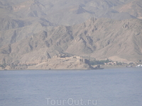 Остров Фараонов, вид из Hiltona.