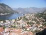 Панорама города Котора - одного из старейших городов Черногории.