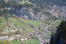 Долина Лаутербруннен