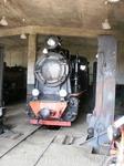 Экспонат музея паровозов