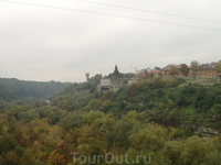 Каменец - Подольский. Вид на крепость