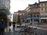 Одна из площадей города перед Рождеством.