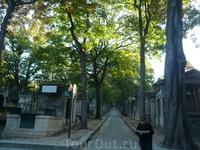 Сентябрь 2012 Paris. Кладбище Пер - Лашез.