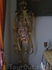 """Позолоченный скелет гориллы и копия статую Бернини """"Экстаз Святой Терезы"""""""