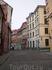 """Знаменитая улица Риги (здесь проходили съемки """"Семнадцать мгновений весны"""", """"Дартаньян и три мушкетера""""."""