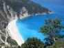 Пляж Миртос. Вид со смотровой площадки.