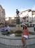 фонтан на центральной площади маршала Тито. Слева городская ратуша