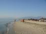 Длинная полоса пляжей Паралии