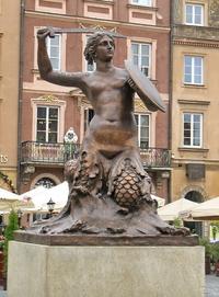 Памятник-фонтан Сиренка