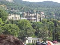 Вид дворца с теплохода