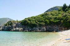 Пляж Limni