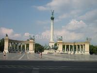 площадь Героев в Будапеште, с нее была скопирована наша площадь Независимости в киеве