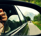 В пути