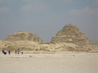 пирамиды в Гизе, спутники Великих пирамид