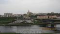 Гродно. Река Неман и мост, Театр и Костёл.