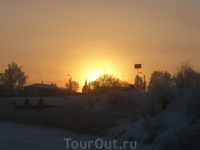 рассвет над Суздалем