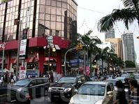 Просто улица Куала Лумпур.