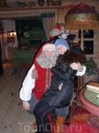 Я с настоящим шведским дедом морозом