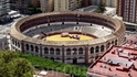 Malaga, вид на Арену Torres с крепости Gibralfaro