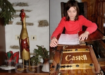 "В ресторане ""Castell""."