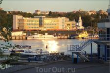 вечер в порту