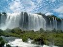 Мощные водопады.