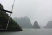 Был туман и дождь. От этого прогулка по заливу показалась еще более мистической.. говорят, там 1500 островов.