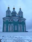 Свято-Успенский кафедральный собор со стороны смотровой площадки