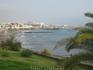 Канарские острова. Тенерифе. Курорт Лас Америкос. Вид на полосу пляжей