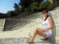 Мраморный амфитеатр около Акрополя