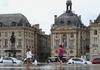 """Площадь Биржи  и знаменитое """"водное зеркало"""" по которому любят ходить не только дети."""