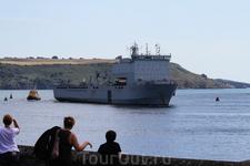 Плимутская гавань.