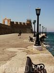 Вид на крепость Фиркас с набережной.