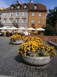 клумбы Варшавы