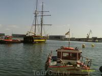 В порту Таррагона