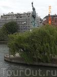 статуя Свободы мост Гренель