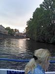 Виды с кораблика. Проплываем мимо Новой Голландии (снимок с телефона)
