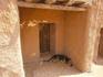 местные жители прятались в тени