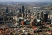 Йоханнесбург с высоты птичего полета.
