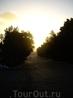 Первая остановка где то в пустые,между Шармом и Каиром,часов 6 утра,жуткий холод