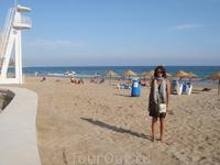 пляж города Кальп