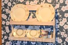 Посудка в домике Мумми троллей