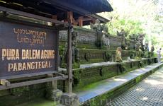 Храм возле Священного леса обезьян