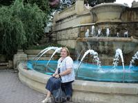 В парке Ессентуков! Очень понравился этот город - чистый,ухоженный,красивый.