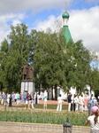 Памятник князю Юрию Всеволодовичу и епископу Симону Суздальскому у Михайло-Архангельского собора