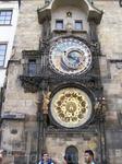 Прага. знаменитые часы.