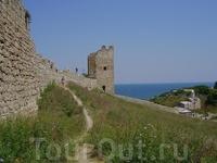 Гэнуэзская крепость Каффа