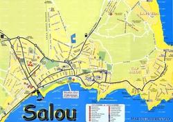 Карта Салоу