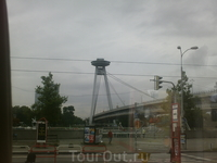 Подвесной мост со смотровой  площадкой
